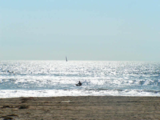 Sunset Beach Sailing