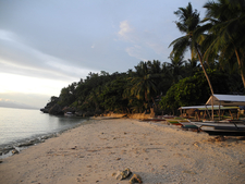 Sunset Guisi Beach