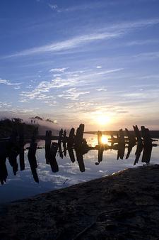 Sunset In Dibrugarh