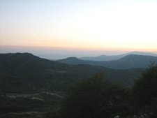 Sunset In The Mountains Of Pruno