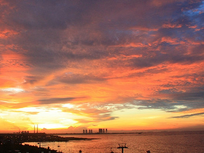 Sunset - Jakarta Bay