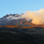 Sunset On Mawenzi Peak From Zebra Rocks