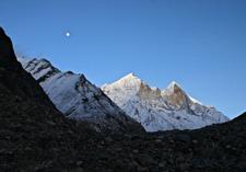 Sunset Over Bhagirathi Peak - Gangotri Trek UT Himalayas
