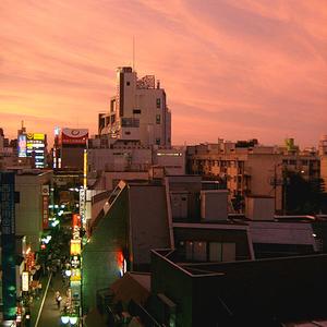 Sunset Over Nakano