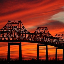 Sunshine Bridge Side View