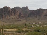 Superstition Mountain Peak