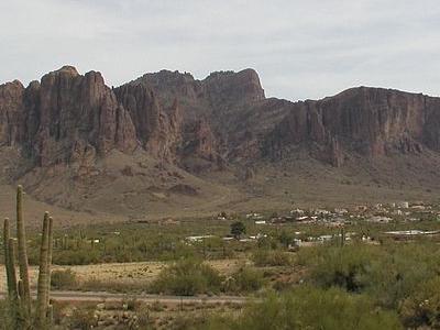 Superstition Mountain Peak - Arizona