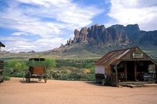 Superstition Mountains Backdrop AZ