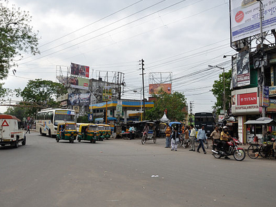 Surendranath Banerjee Road - Chiria Crossing