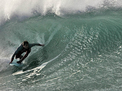 Surfing At Fistral Beach