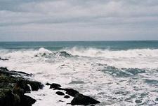 Surfing At Pescadero Beach
