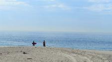 Surfing At Victoria Beach