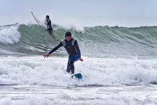 Surfing @ Ohope Beach - Bay Of Plenty NZ