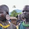 Surmi Women In Ethiopia