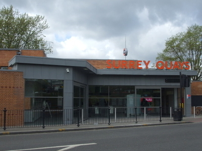 Surrey Quays Railway Station Entrance