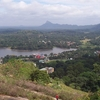 Surrounding View From The Top Of The Elephant Rock In Kurunegala