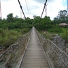 Suspension Bridge At Dray Nur Falls