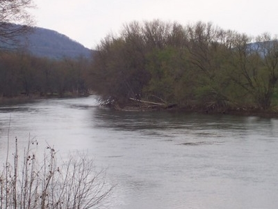 Susquehanna River At Hallstead