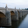 Susquehanna River & Market Street Bridge - Harrisburg PA
