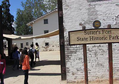 Sutter's Fort Entrance - Sacramento
