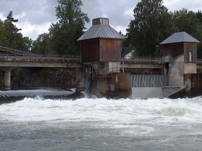 Svanfossen On The River Vorma