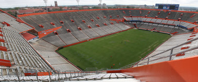 View Of Ben Hill Griffin Stadium