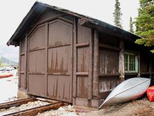 Swanson Boathouse - Glacier - USA