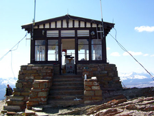 Swiftcurrent Fire Lookout - Glacier - USA