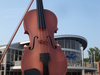 The Largest Ceilidh Fiddle In The World