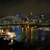 Sydney Harbour Night Skyline