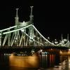 Szabadság Híd In The Night