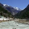 Sacred Bathing Ghats On Bhagirathi River At Gangotri