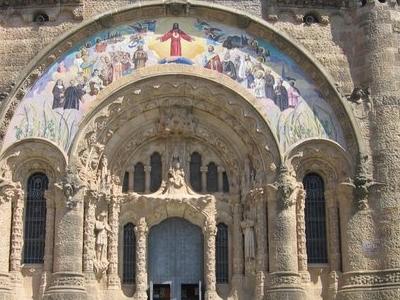 Facade Of The Crypt