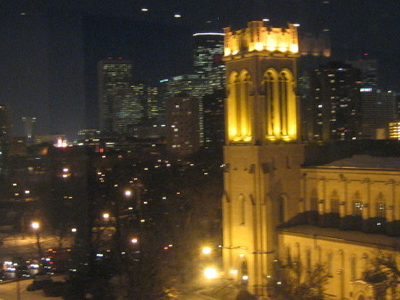 Night View Of St. Mark\'s Episcopal Cathedral