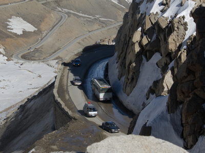 Salang  Pass  Road