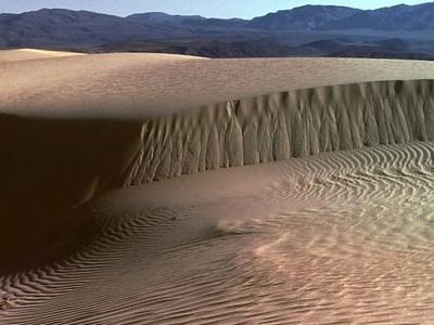 The Dunes Of Saline Valley