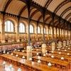 Reading Room Of The Bibliothèque Sainte-Geneviève