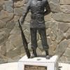 San Joaquin Cemetery Airborne Statue