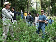 Teachers And Students Of UACh In The Valdivian Forests