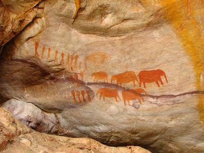 San Bushmen Rock Art