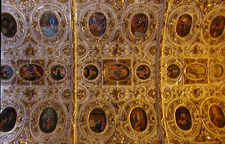 Ceiling Of Church Of Santo Domingo