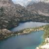 Upper Baron Lake At Bottom And Baron Lake