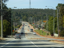 Great Eastern Highway In Sawyers Valley