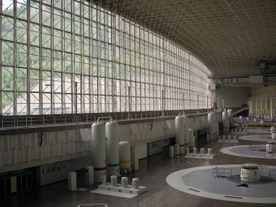 Generator Hall Of Sayano-Shushenskaya Dam
