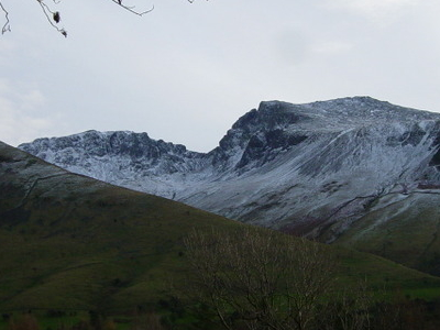 Scafell  Pike And  Sca  Fell
