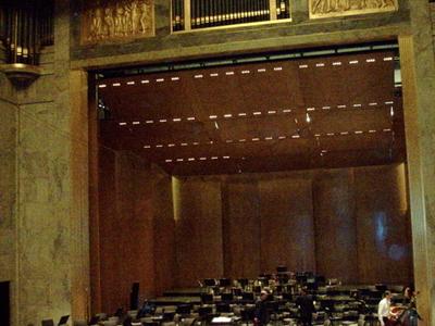 Stage Of The Théâtre Des Champs-Élysées
