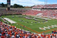 Scott Stadium During A Game