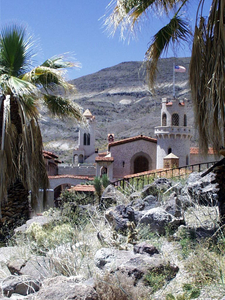 View Of Scotty's Castle