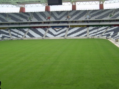 Seats And Field Of  Mbombela  Stadium