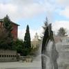Centennial Fountain In Seattle University